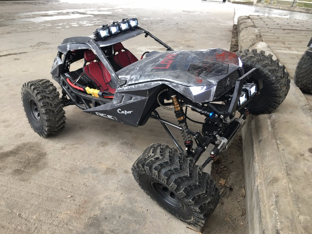 CAPO ACE1 ROCK CRAWLER 1 10 RC Car 2 4G 4CH 4WD Rock Crawlers 4x4 Driving