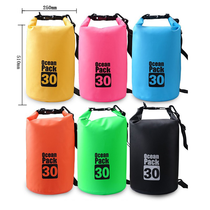 Outdoor Portable Waterproof Luggage Dry Bag For Drifting Rafting Canoe Bag Travel Kit 10L