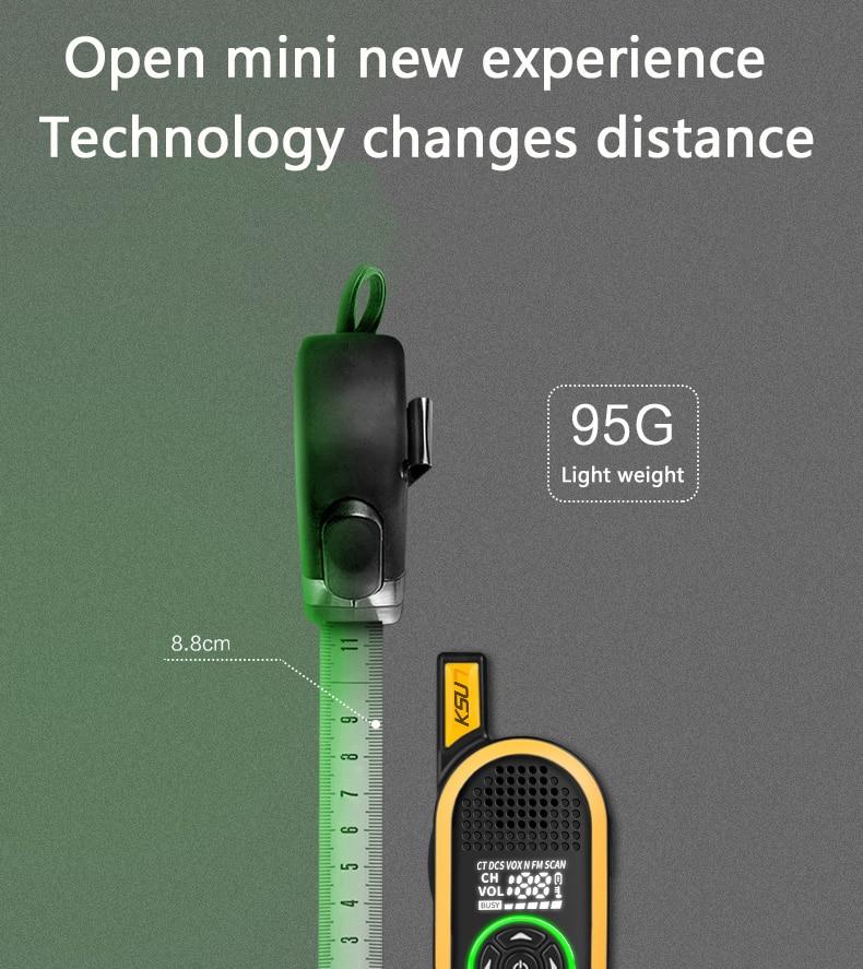 2шт KSUN х-30TFSI-jnb по гражданским километр наивысшей мощности переговорное устройство открытый Портативный мини-рации