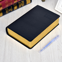 MIRUI stationery A6 simple business notebook stationery book super thick leather retro diary office notebook