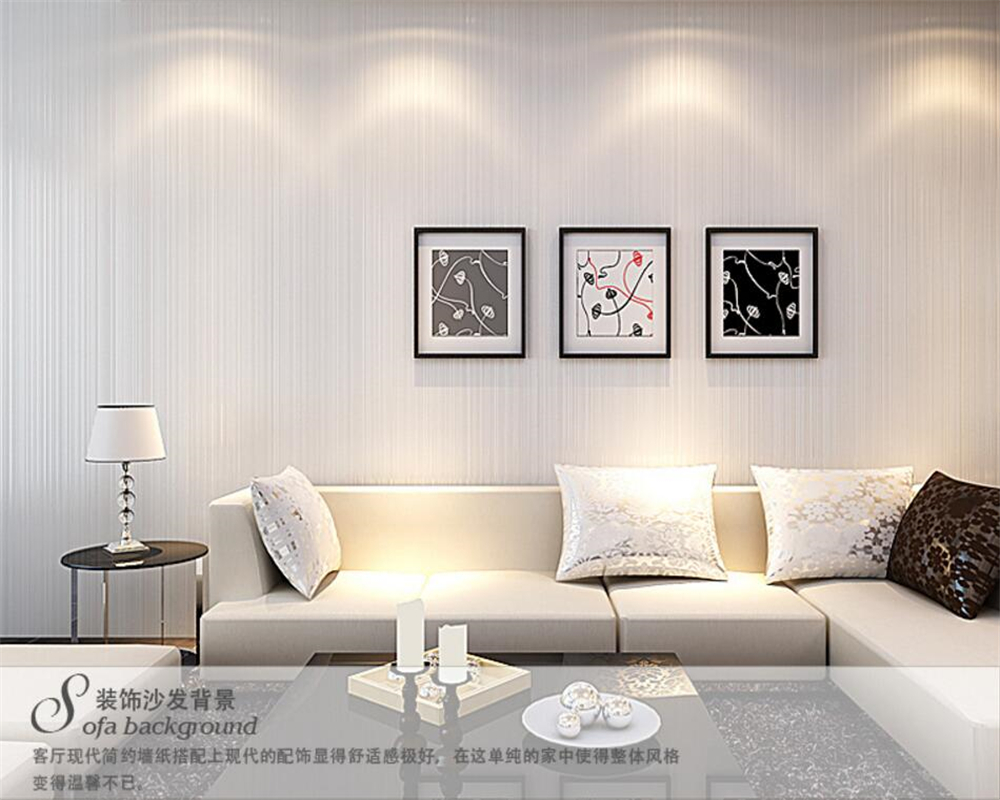 Contemporary living room wallpaper - Beibehang Contemporary And Contracted Plain Solid Color Wallpaper Deep Coffee Stripe 3d Wallpaper The Sitting Room