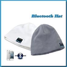 2016 New Fashion Hats Warm Hat Wireless Bluetooth Smart Cap Headset Headphone Speaker.