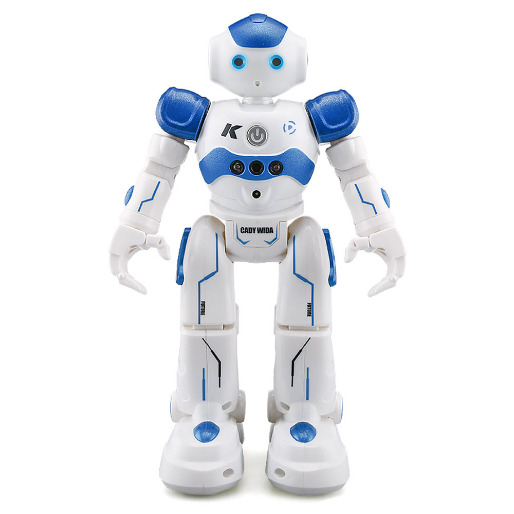 R2 Charging Dancing Gesture Robot Toy Radio-controlled Blue Children's Smart Robot Birthday Gift Robot Toys Kids Action Figure