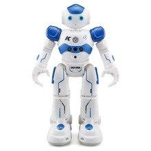 R2 Charging Dancing Gesture Robot Toy Radio controlled Blue Children s Smart Robot Birthday Gift Robot