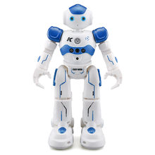 R2 Charging Dancing Gesture Robot Toy Radio-controlled Blue Children's Smart Robot Birthday Gift Robot Toys Kids Action Figure(China)