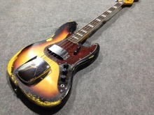 Hot sell  1959  relic Jazz bass basswood body  100% handmade