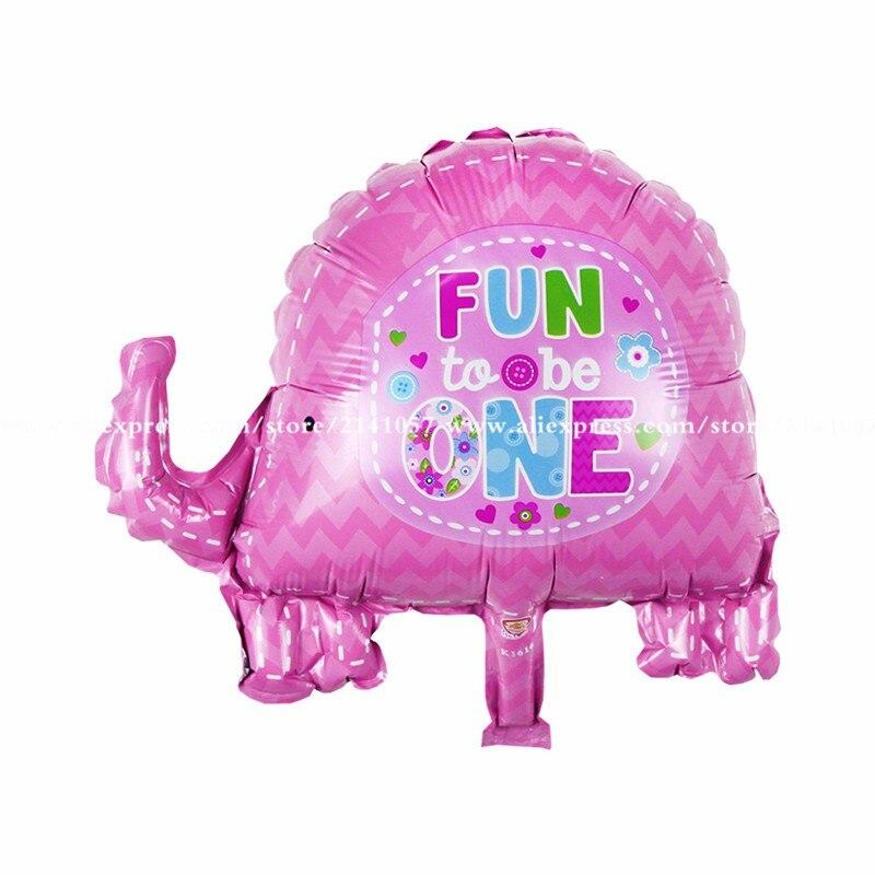 30pcs/lot Mini-series aluminum balloons party mini elephant Foil Balloons Birthday Balloons Supplies