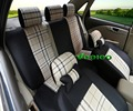 Veeleo +6 Colors Universal Car Covers Seat Cover For Peugeot 406 207 206 307 407 308 2008 408 301 508 3008 3D Flax Fabric