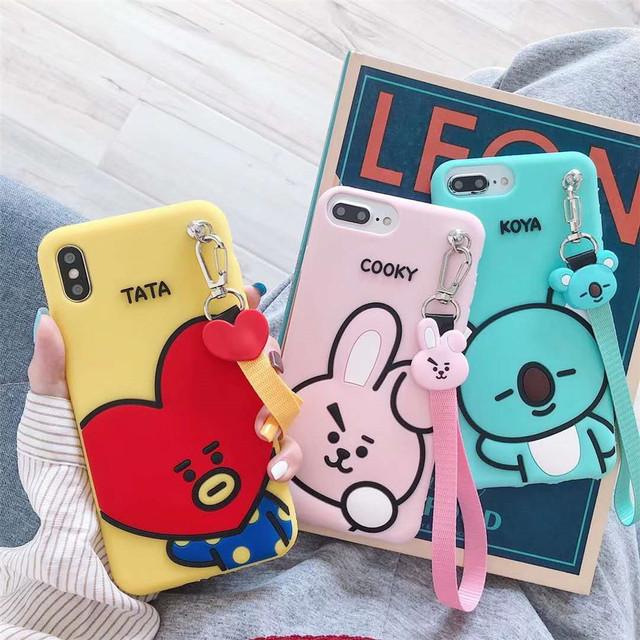 BTS BT21 IPHONE CASE (3 VARIAN)