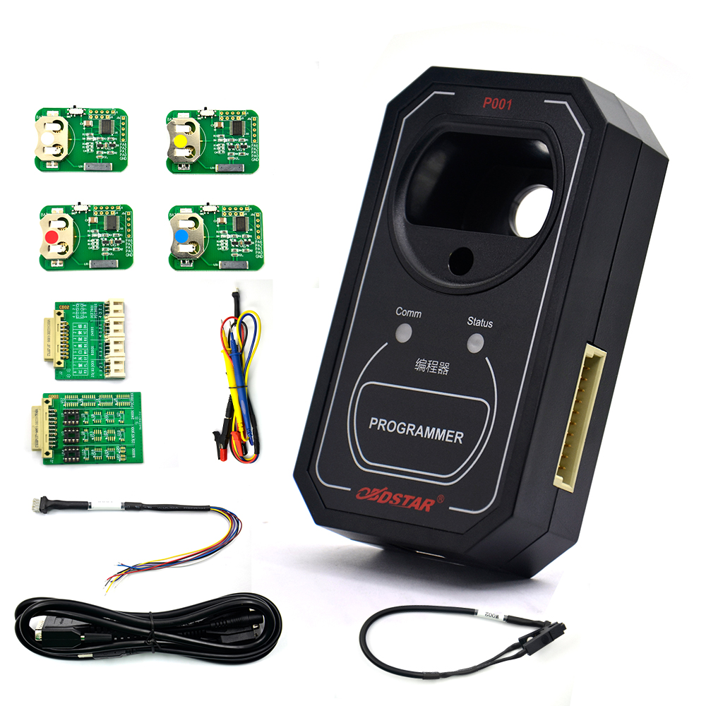 Image 5 - OBDSTAR P001 Programmer RFID Adapter & PCF79XX Renew Key & EEPROM 3 in 1 Work with OBDSTAR X300 DP Master IMMO-in Auto Key Programmers from Automobiles & Motorcycles