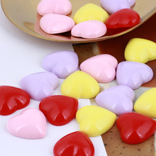 GDFSY 2pcs/lot Resin DIY Heart shape Classic Earring Accessories for Womens Girls Jewelry Birthday Party Gifts S021