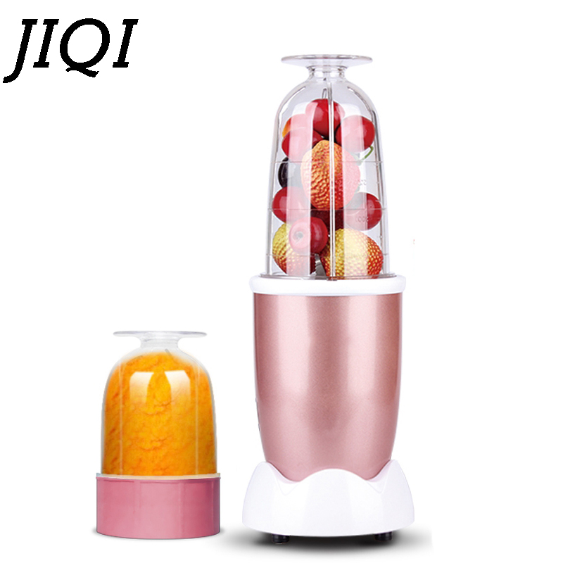 JIQI Electric MINI Fruit Juice Extractor Orange Squeezer Juicer Baby Food Processor Whisk Mixer Blender Kitchen Meat Grinders EU electric orange fruit juicer machine blender extractor lemon juice