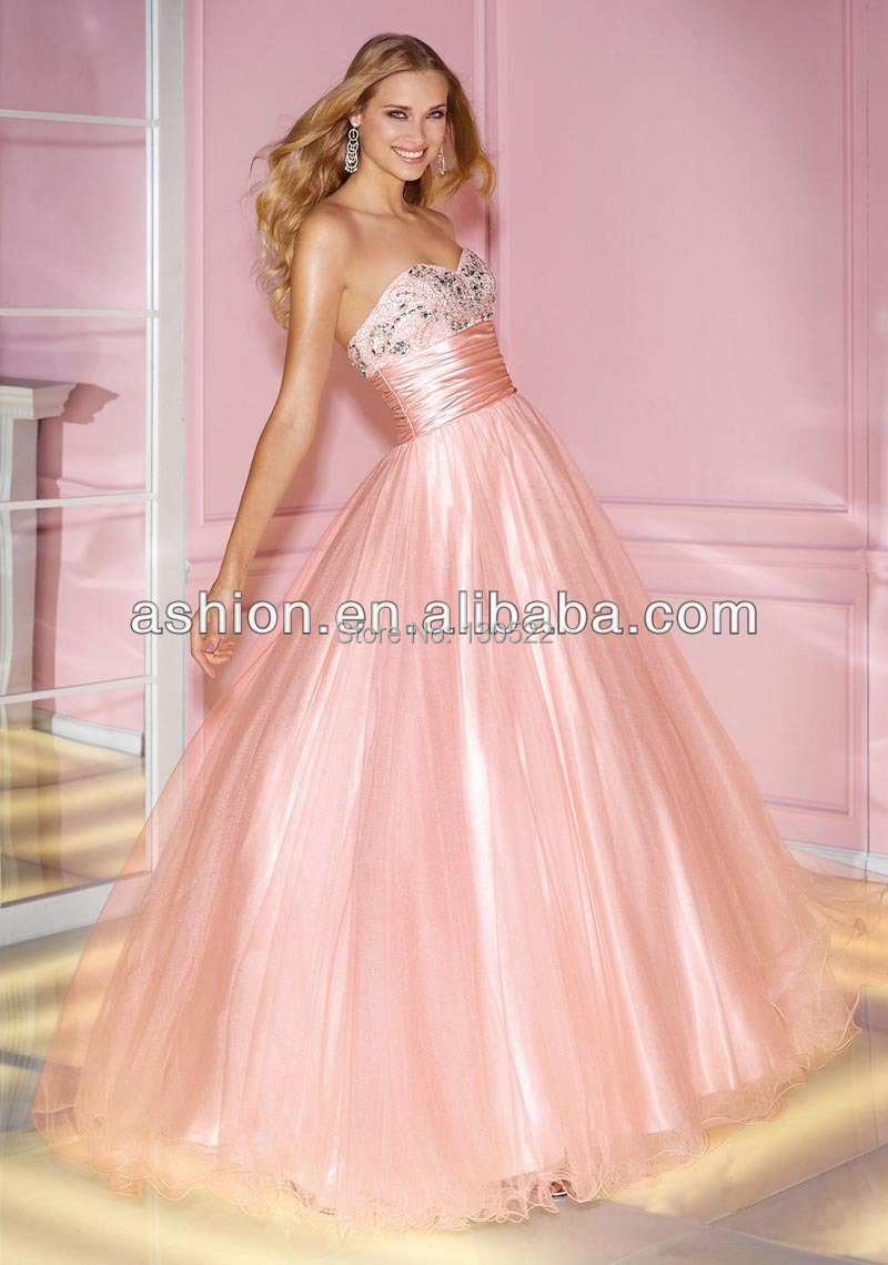 ED 2365 Latest design puffy princess prom dresses sale designer prom ...