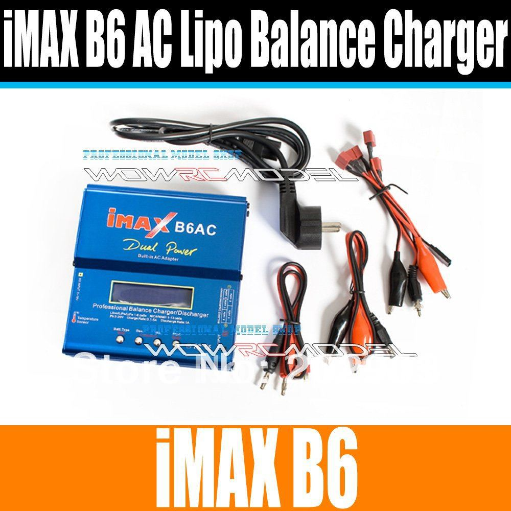 Newest 80w Imax B6 Ac B6ac 3s Lipo Nimh Rc Digital Battery Balance Charger And For Trex 450 Helicopter In Parts Accessories From Toys Hobbies On