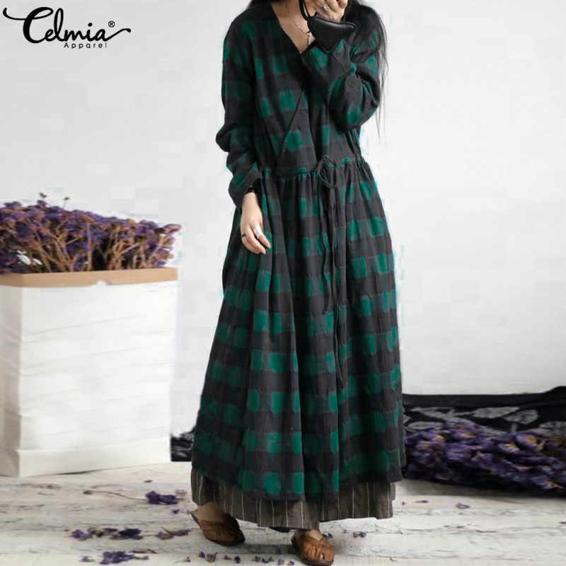 f908f297ef390 Detail Feedback Questions about casual o neck long sleeve checkered ...