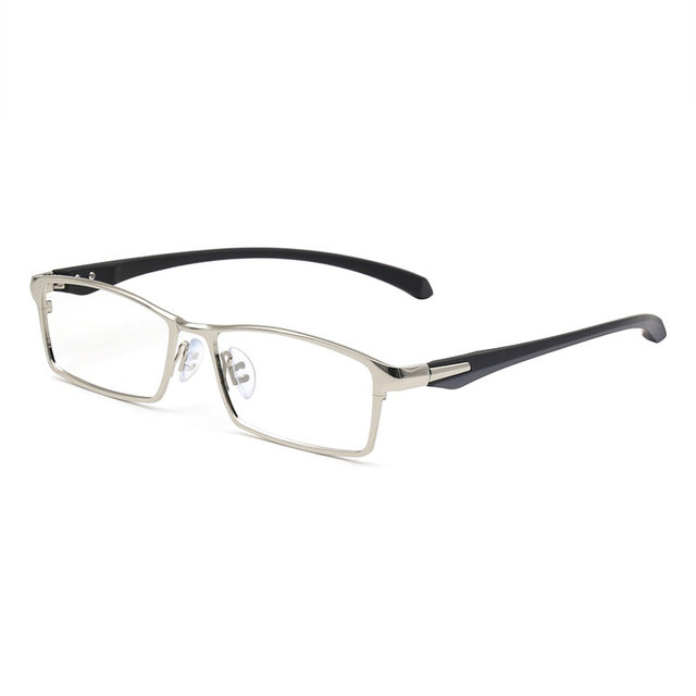 613460a3903 Titanium IP Electronic Plating Alloy Metal Men Eyeglasses Frame Optical  Glasses Prescription Male Fashion Eyewear Spectacles