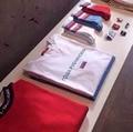 Gosha Gosha Rubchinskiy camiseta Hombres de Las Mujeres 1:1 Versión de Alta Calidad bandera 100% de Algodón camiseta Palacio Gosha Monopatín camiseta de Los Hombres