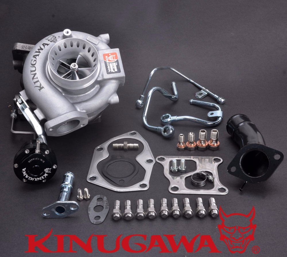 Kinugawa Turbocharger 3 Anti Surge TD05HR-20G 10.5T for Mitsubishi EVO 9 / Fit EVO 4~8 kinugawa gtx ball bearing turbocharger 3 anti surge gtx2860r ar 64 t25 5 bolt internal page 9