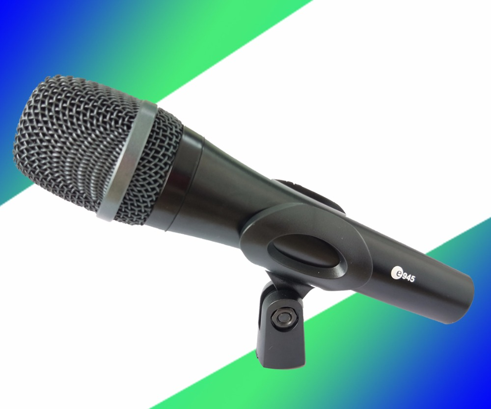 in stock lowprice Top Quality E945 Professional Dynamic Super Cardioid Vocal Wired Microphone microfone microfono Mike Mic e 945