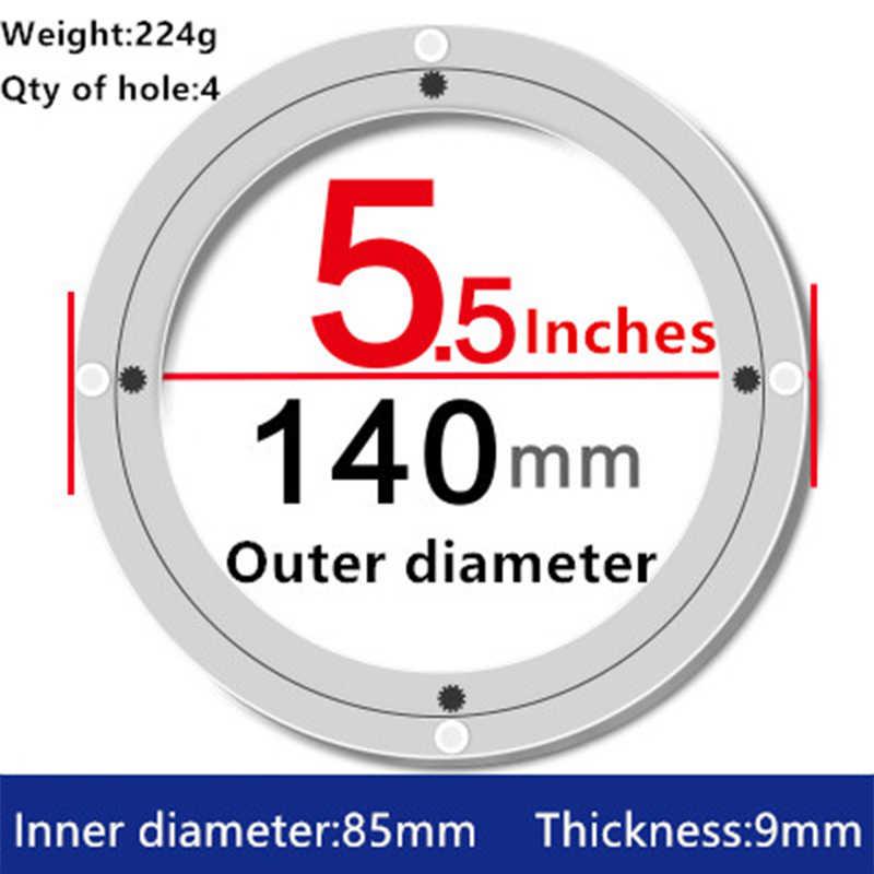 2 шт. 5,5 дюйм(ов) 14 см Малый Lazy Susan проигрыватели обеденный стол поворотные пластины из алюминиевого сплава Материал для Кухня мебель