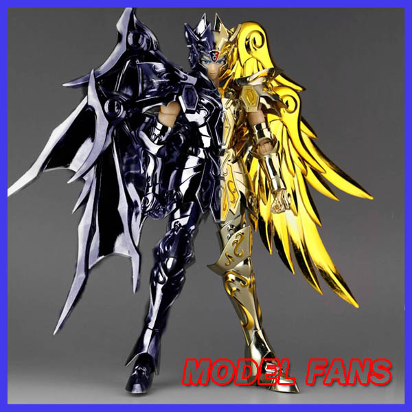 все цены на  MODEL FANS IN-STOCK GreatToys Great toys EX soul of Gold sog gemini saga bicolor version Saint Seiya metal armor action figure  онлайн