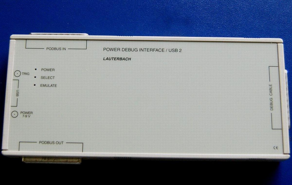 LAUTERBACH TRACE32 JTAG DEBUGGER MODULE:LA 7708 POWER DEBUG