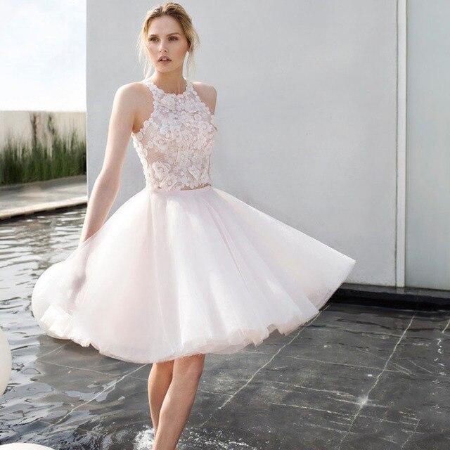 10dbea86ba Rosa Tutu Saias Das Mulheres 4 Camadas de Tule Saia Midi Moda Princesa  Curto Partido Vestidos