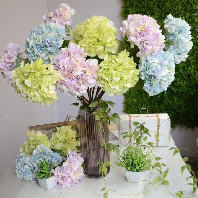 High artificial silk flower home DIY decoration flower bouquet ...