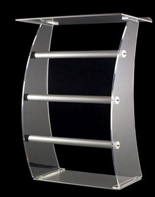 Acrylic desktop lectern / acrylic church lectern stand church pulpit plexiglass|Reception Desks| |  - title=
