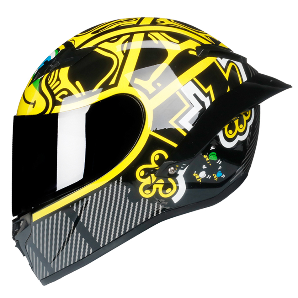 Full Face Motorrad Helm off raod capacetes de motociclista motocross für racing