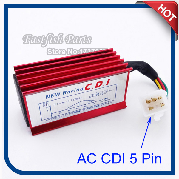 US $8 2 |AC 5 Pin Racing CDI For 50cc 110cc 125cc 140cc 150cc 160cc SSR  Thumpstar Pit Dirt Bike Motorcycle Motocross-in Motorbike Ingition from