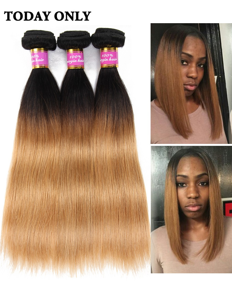 ombre brazilian hair 02