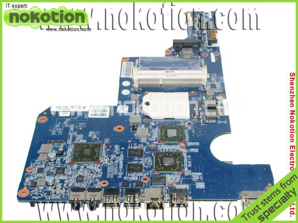цена на NOKOTION 610160-001 laptop motherboard for HP G62 DDR3 Full Tested Mainboard Mother Boards free shipping