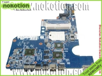 610160 001 Laptop Motherboard For HP G62 AMD DDR3 Full Tested Mainboard Mother Boards Free Shipping