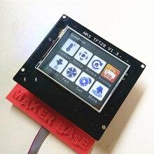 3d druck touchscreen RepRap controller panel MKS TFT28 V1.2 display farbe TFT unterstützung/WIFI/APP/ausfall saving lokalen sprache