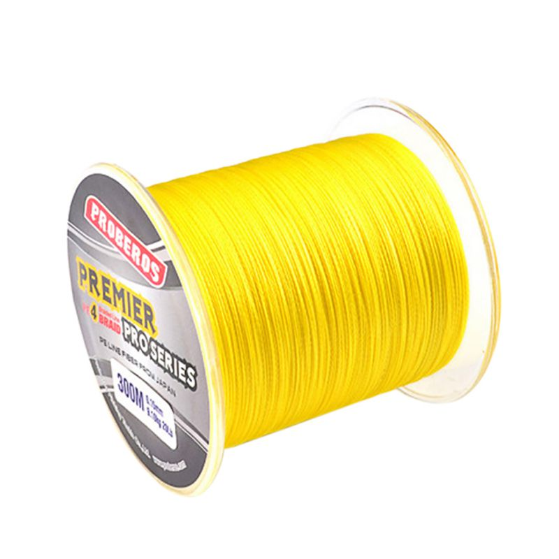 300M PE Fishing Line Monofilament Braided Fishing Line Ocean Super Strong Carp Colorful Braided Fishing Rope Cord dagezi super strong 4 strand 300m 330yds 100% pe braided fishing line 10 80lb multifilament fishing line carp fishing saltwater