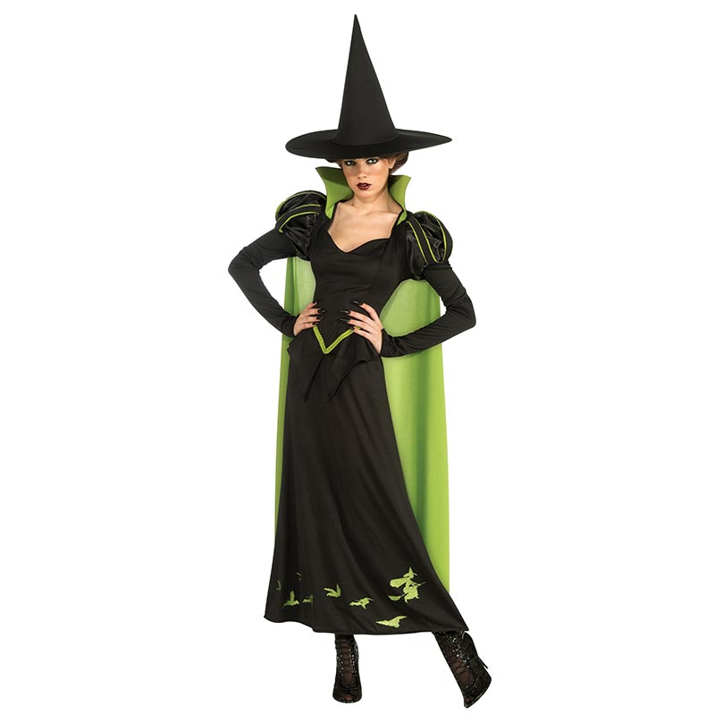 Kostum Penyihir Jahat Dewasa Barat 15527