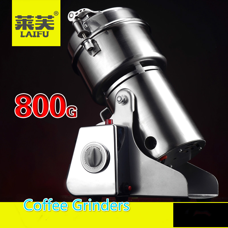 Household appliances Coffee grinding machine High Power grinder Household electric Grinding machine Free shipping