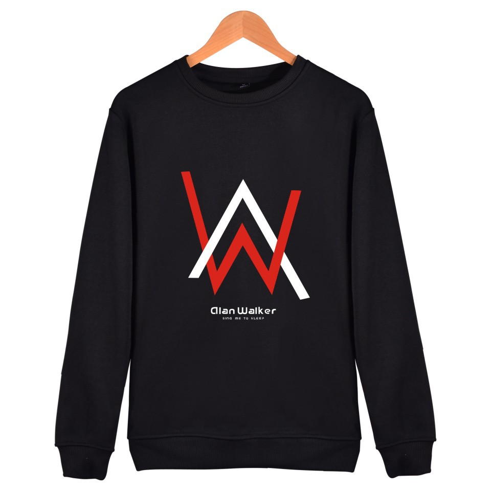 2018 Alan Walker Sweatshirt mens Sweaters and Pullovers unisex streetwear tops long sleeve Hoodies casual Sweater Blouse Shirts