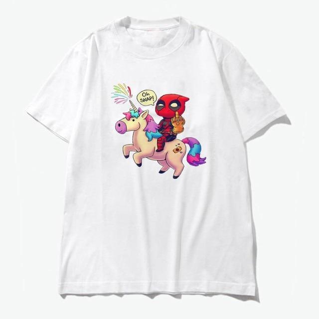 Funny Deadpool Snap Tshirt...