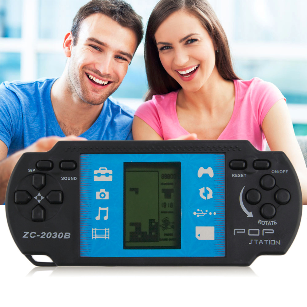 Portable Handheld Video Tetris Game Console For PSP Gaming Toys Gift Kids Children Classical Game Players