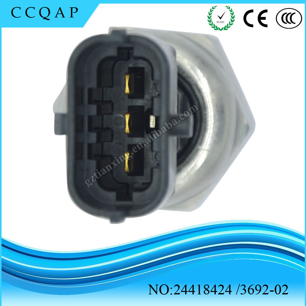 OEM# 24418424 Fuel Pressure Sensor for Vauxhall Opel Vectra Zafira Astra Signum