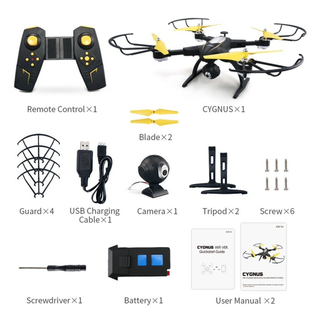 JJR/C H39WH Selfie FPV RC 2.4G RC Foldable Quadcopter Drone with 720P Wifi HD Live Video Camera Altitude Hold 360 FlipsJJR/C H39WH Selfie FPV RC 2.4G RC Foldable Quadcopter Drone with 720P Wifi HD Live Video Camera Altitude Hold 360 Flips
