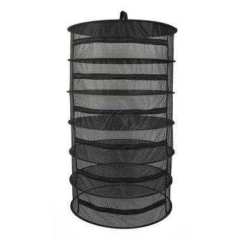 Nova destacável secagem líquido de secagem rack 6-camada cesta hidropônico planta flor seca de ervas de alta qualidade respirável de secagem cesta ga