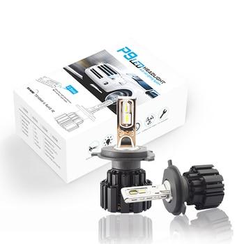 F2 H4 Car Headlight H7 H4 LED H8/H11 HB3/9005 HB4/9006 H1 H3 9012 H13 9004 9007 72W 12000lm Auto Bulb Headlamp 6000K work Light