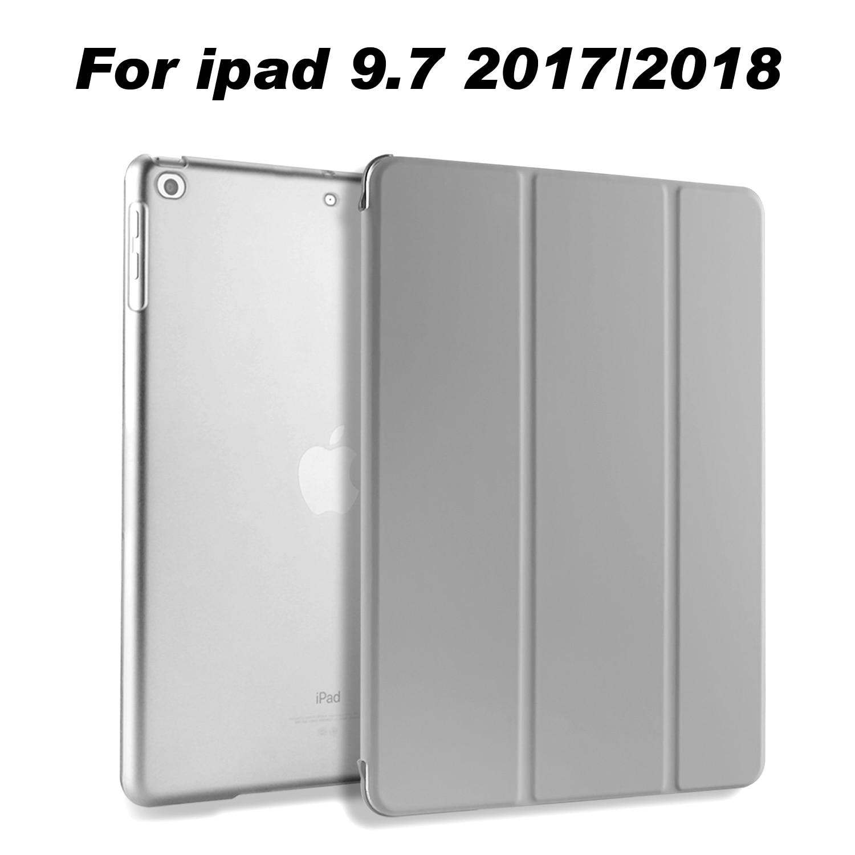 El caso para el iPad Retina aire cubierta Ultra Slim Auto cubierta también para nuevo iPad 9,7 pulgadas 2017 y 2018 liberación A1822 A1823 A1893 A1954