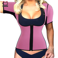 Gotoly Hot Shapers Neoprene Sauna Waist Cincher Shapewear Corset Waist Trainer Vest Tummy Control Body Shaper
