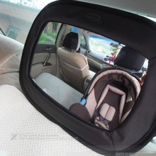 2015 Nuevo Coche de Seguridad Espejo de Visión Trasera Espejo Retrovisor de Seguridad de Coche de Bebé Bebé Niño Asientos de Seguridad Para Bebés Cesta Espejo
