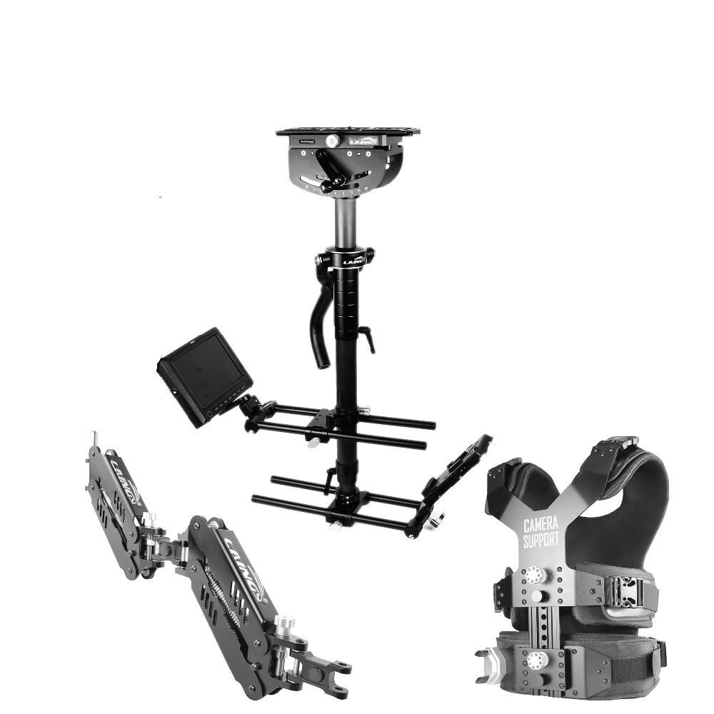 LAING M35II Load 16kg professional Carbon Fiber camcorder Steadicam stabilizer Steadycam vest arm photography Dual Support