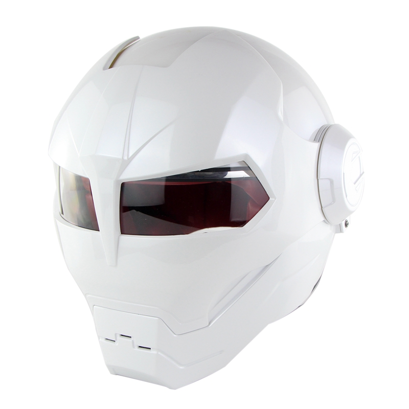 Ironman Racing Motorcycle Helmet Motocross Open Face Casco Moto Capacete Soman 515 masei mens womens war machine gray ironman iron man helmet motorcycle helmet half helmet open face helmet abs casque motocross